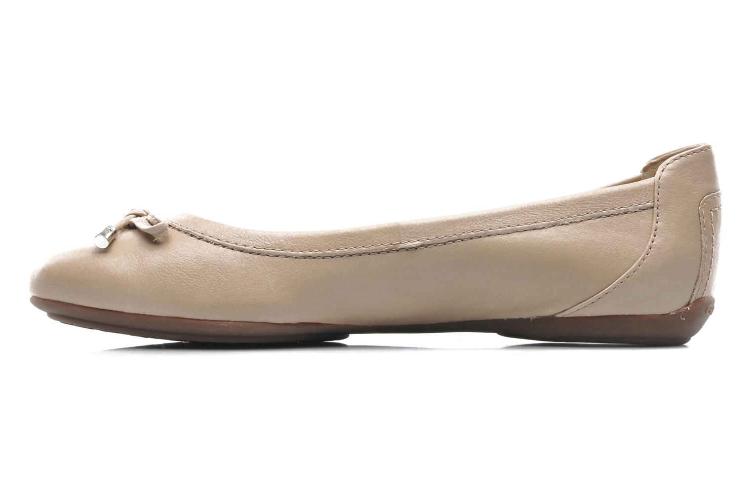 Ballerines Geox D CHARLENE A D32Y7A Beige vue face