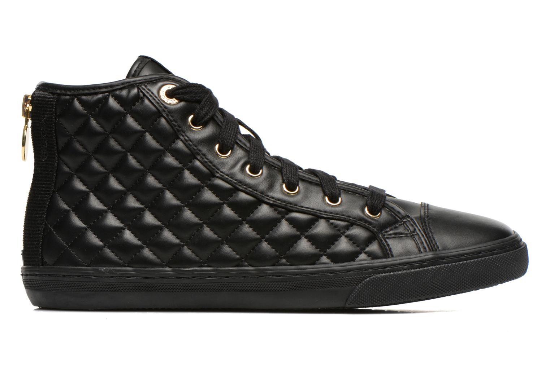 Sneaker Geox D NEW CLUB A D4258A schwarz ansicht von hinten