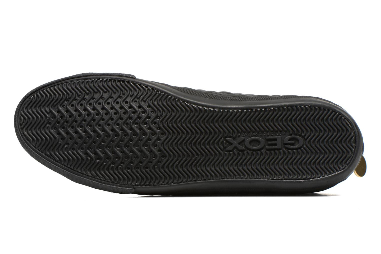 Sneaker Geox D NEW CLUB A D4258A schwarz ansicht von oben