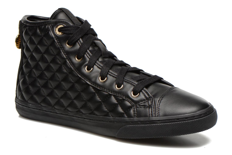 Baskets Geox D NEW CLUB A D4258A Noir vue détail/paire