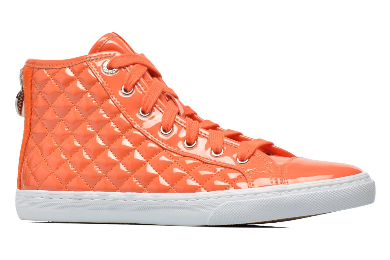 Baskets Geox D NEW CLUB A D4258A Orange vue derrière