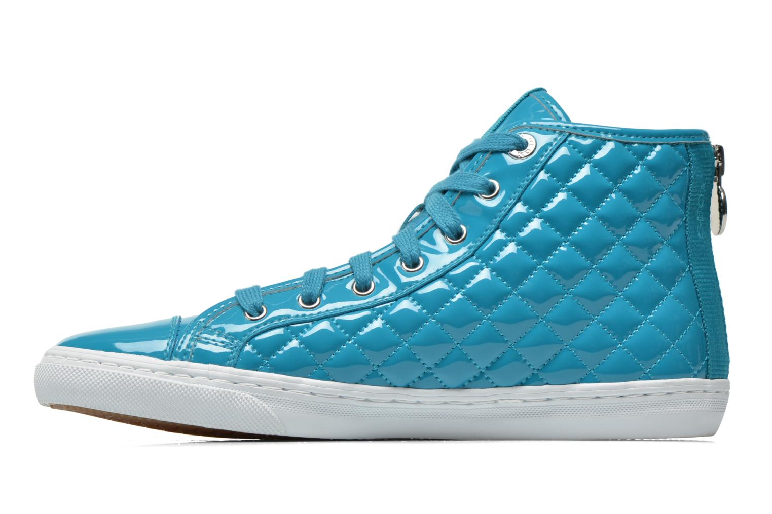Sneakers Geox D NEW CLUB A D4258A Azzurro immagine frontale