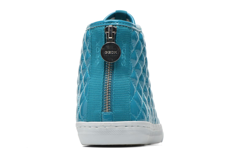 Sneakers Geox D NEW CLUB A D4258A Azzurro immagine destra