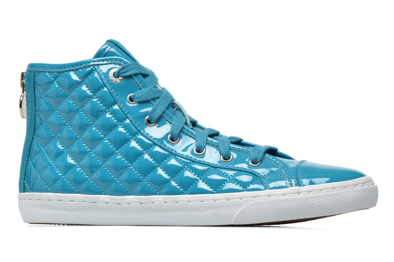 Sneakers Geox D NEW CLUB A D4258A Azzurro immagine posteriore