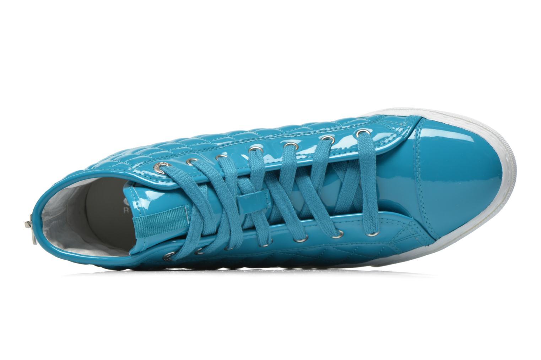 Sneakers Geox D NEW CLUB A D4258A Azzurro immagine sinistra