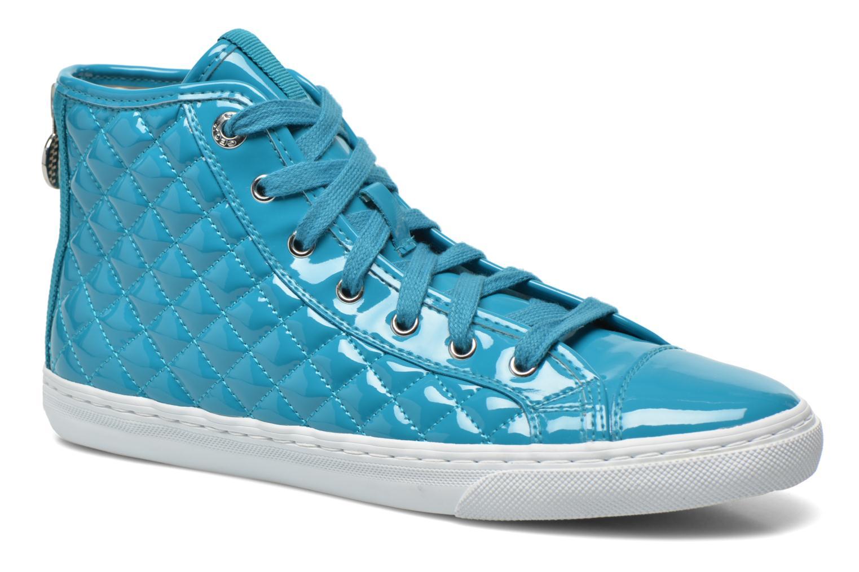 Sneakers Geox D NEW CLUB A D4258A Azzurro vedi dettaglio/paio