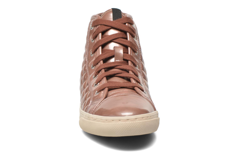 Sneaker Geox D NEW CLUB A D4258A rosa schuhe getragen