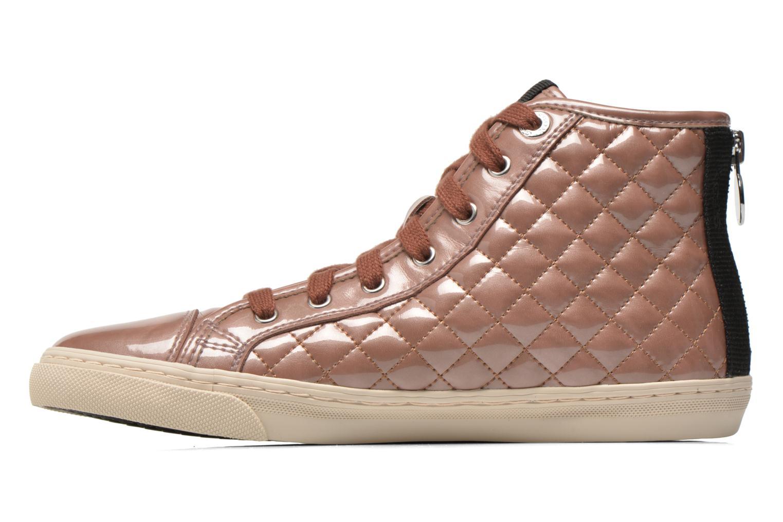 Sneaker Geox D NEW CLUB A D4258A rosa ansicht von vorne