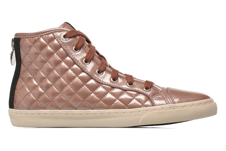 Sneaker Geox D NEW CLUB A D4258A rosa ansicht von hinten