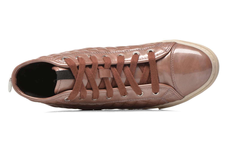 Sneaker Geox D NEW CLUB A D4258A rosa ansicht von links