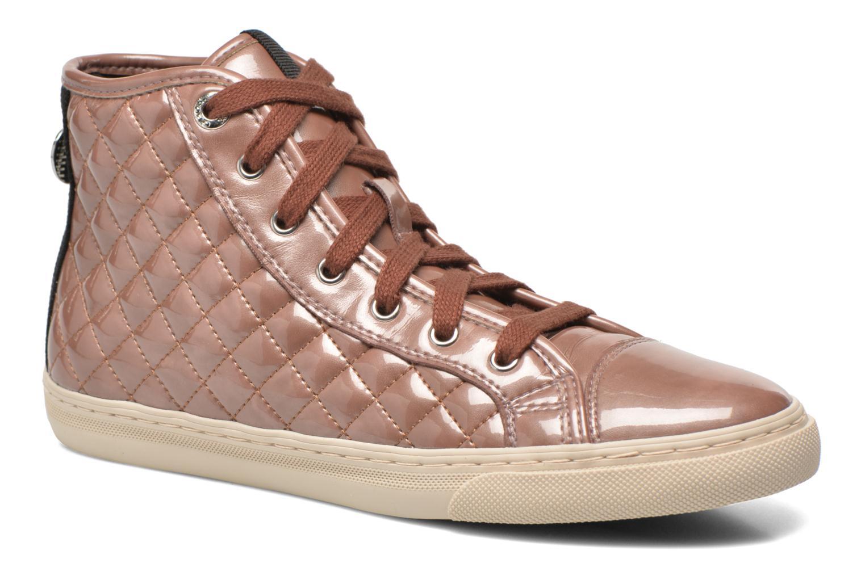 Sneaker Geox D NEW CLUB A D4258A rosa detaillierte ansicht/modell
