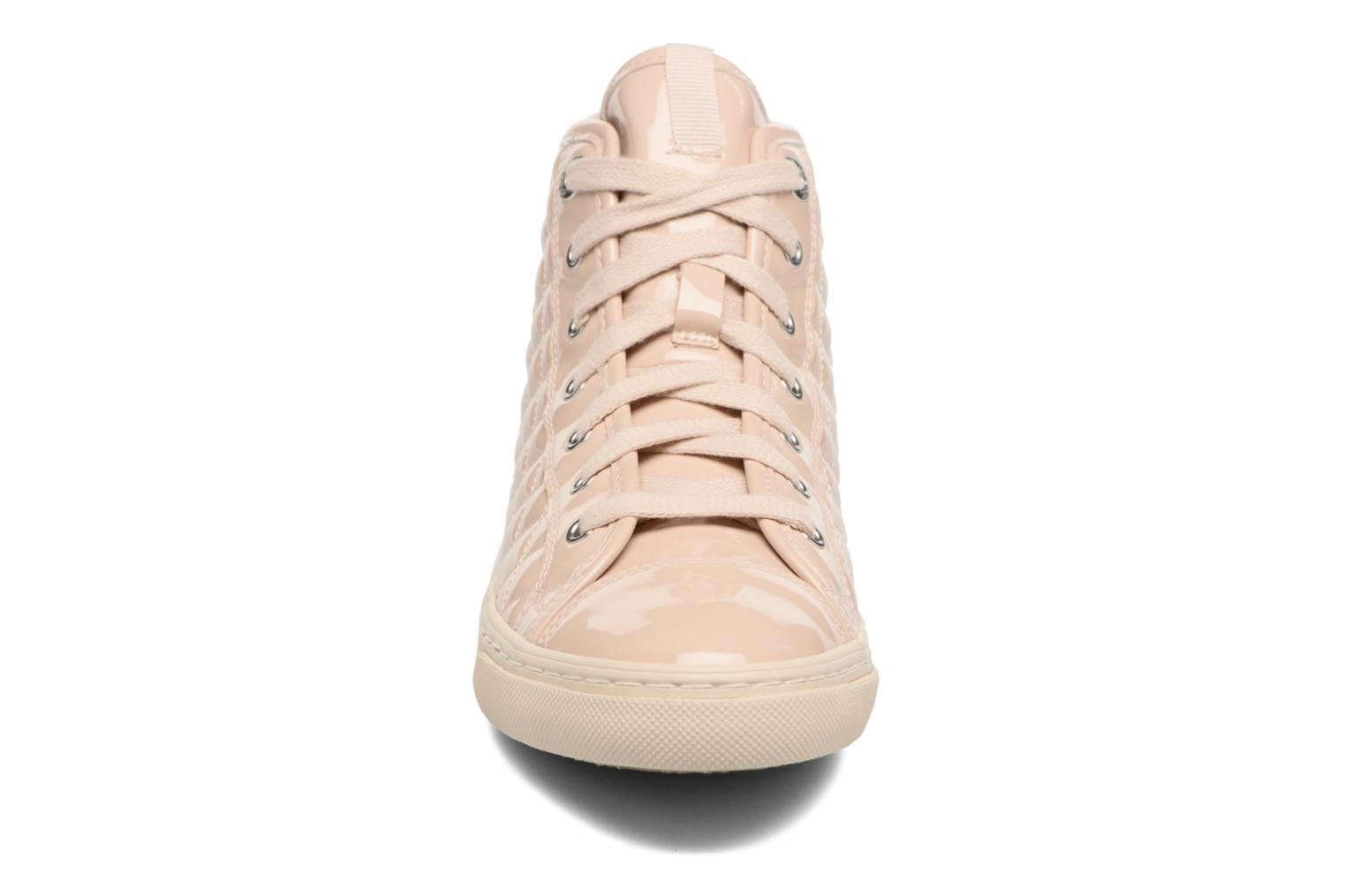 Trainers Geox D NEW CLUB A D4258A Beige model view