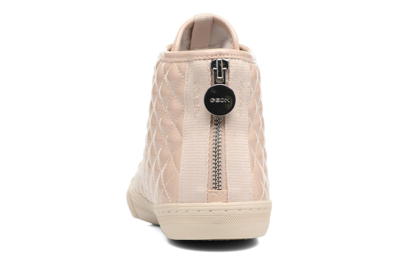 Trainers Geox D NEW CLUB A D4258A Beige view from the right