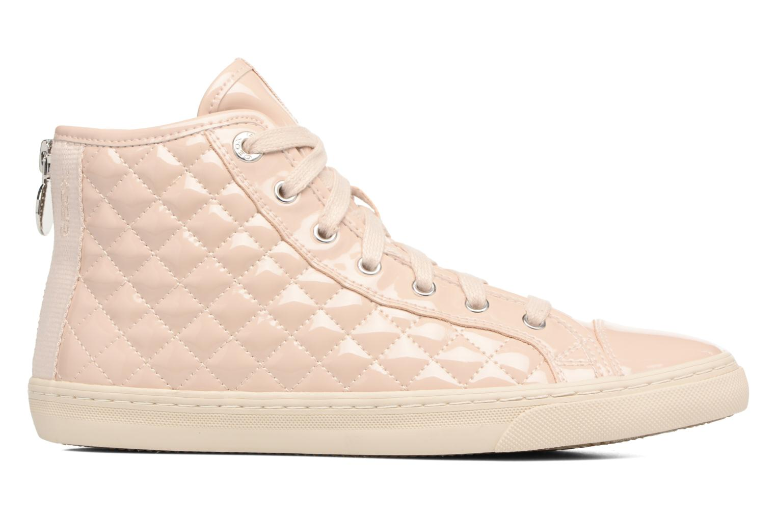 Trainers Geox D NEW CLUB A D4258A Beige back view