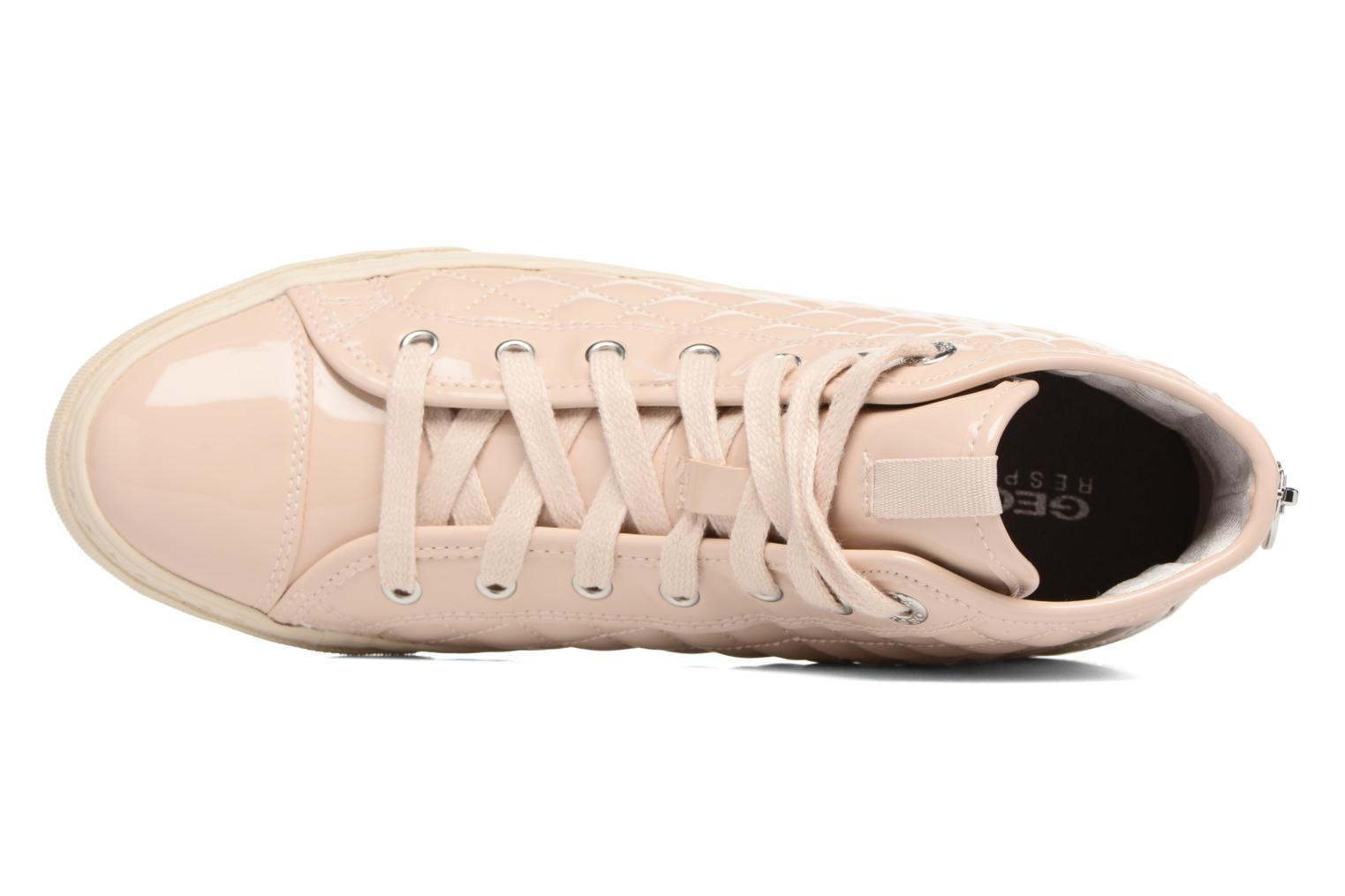 Trainers Geox D NEW CLUB A D4258A Beige view from the left