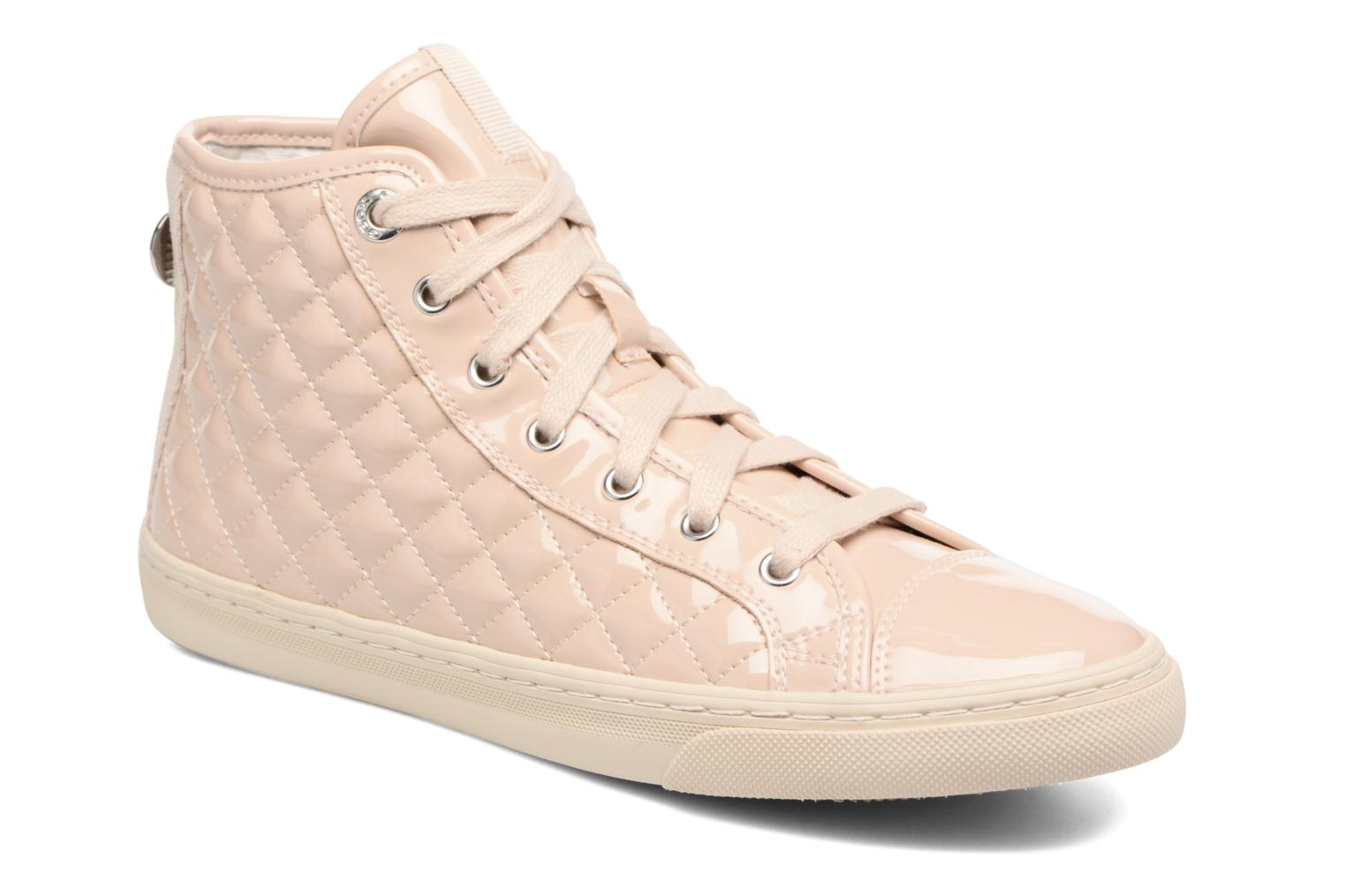 Trainers Geox D NEW CLUB A D4258A Beige detailed view/ Pair view