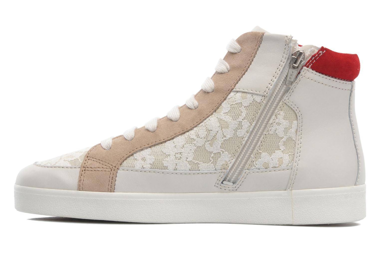 Sneaker Geox D PRUDENCE F D5207F beige ansicht von vorne