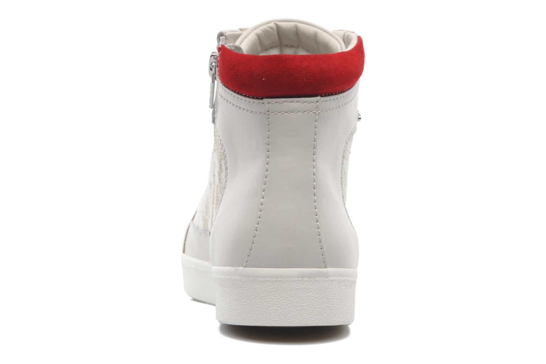 Sneaker Geox D PRUDENCE F D5207F beige ansicht von rechts