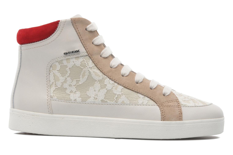 Sneaker Geox D PRUDENCE F D5207F beige ansicht von hinten