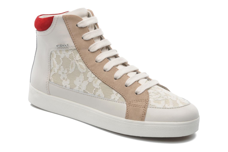 Sneaker Geox D PRUDENCE F D5207F beige detaillierte ansicht/modell