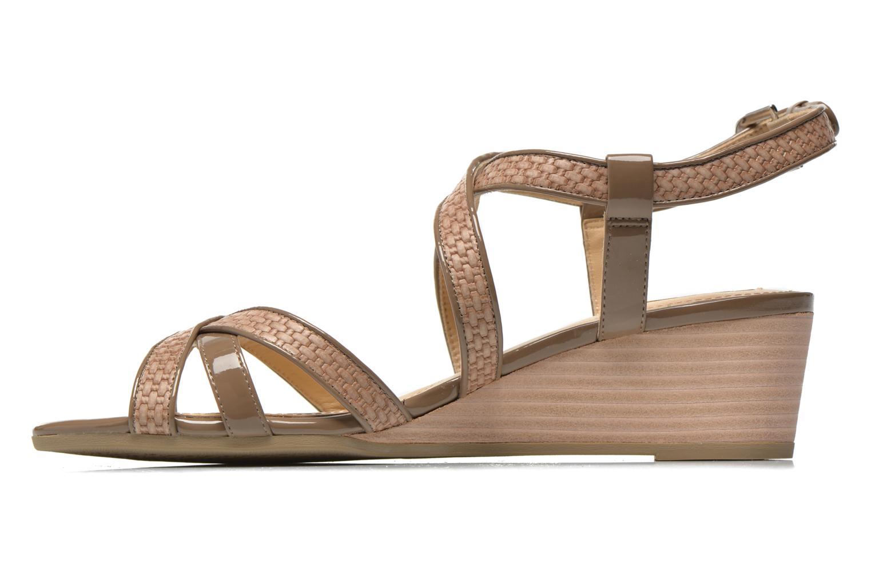 Sandales et nu-pieds Geox D LUPE A D5283A Beige vue face
