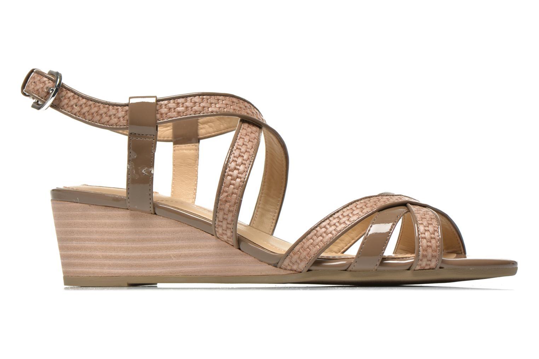 Sandales et nu-pieds Geox D LUPE A D5283A Beige vue derrière