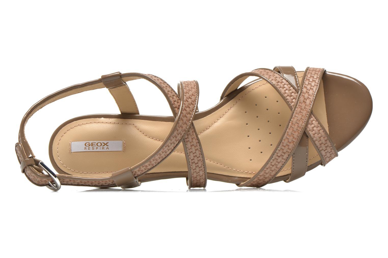 Sandales et nu-pieds Geox D LUPE A D5283A Beige vue gauche
