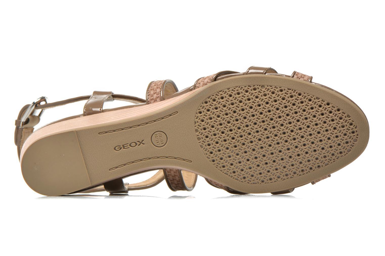Sandales et nu-pieds Geox D LUPE A D5283A Beige vue haut