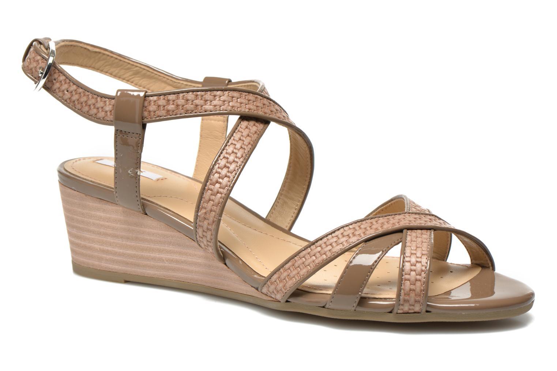 Sandales et nu-pieds Geox D LUPE A D5283A Beige vue détail/paire