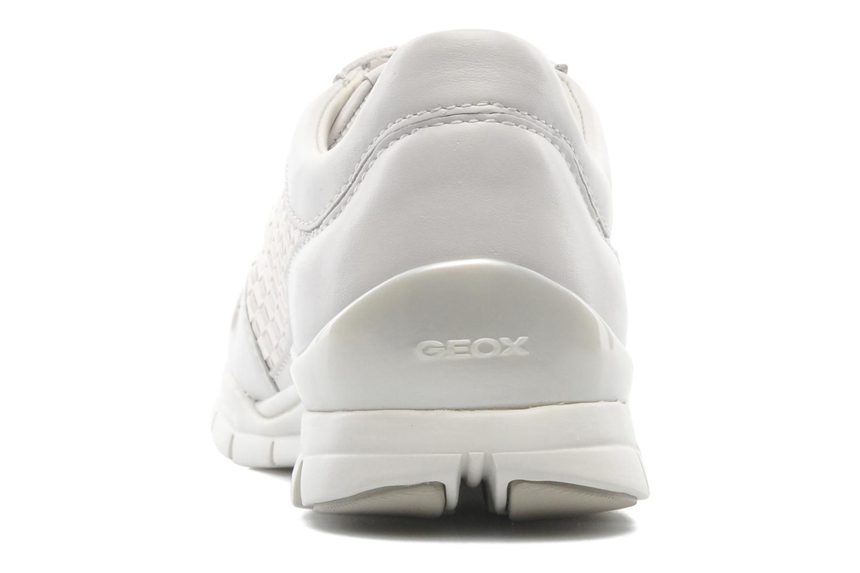 Baskets Geox D SUKIE A D52F2A Blanc vue droite