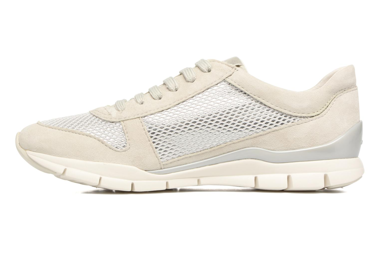 Sneakers Geox D SUKIE A D52F2A Beige immagine frontale