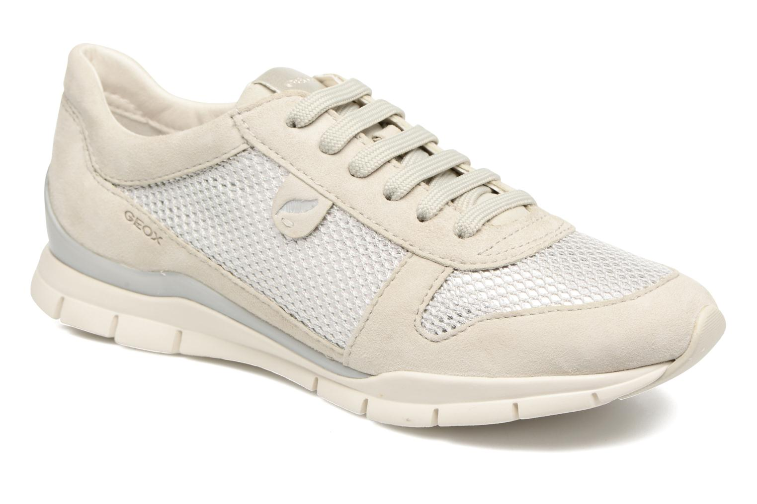 Trainers Geox D SUKIE A D52F2A Beige detailed view/ Pair view
