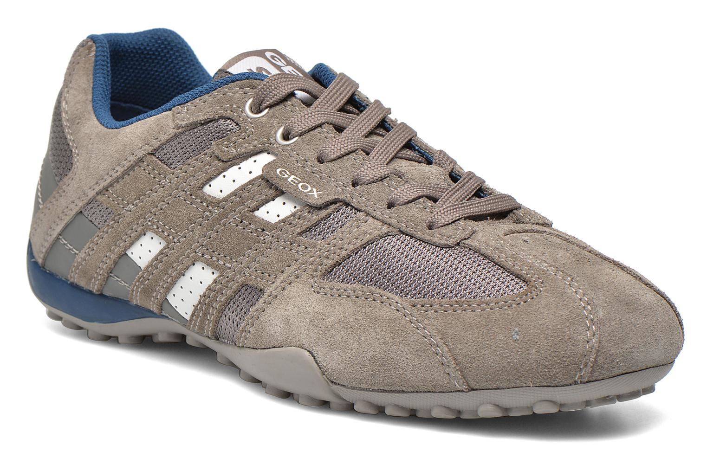 Sneakers Geox U SNAKE K U4207K Grijs detail
