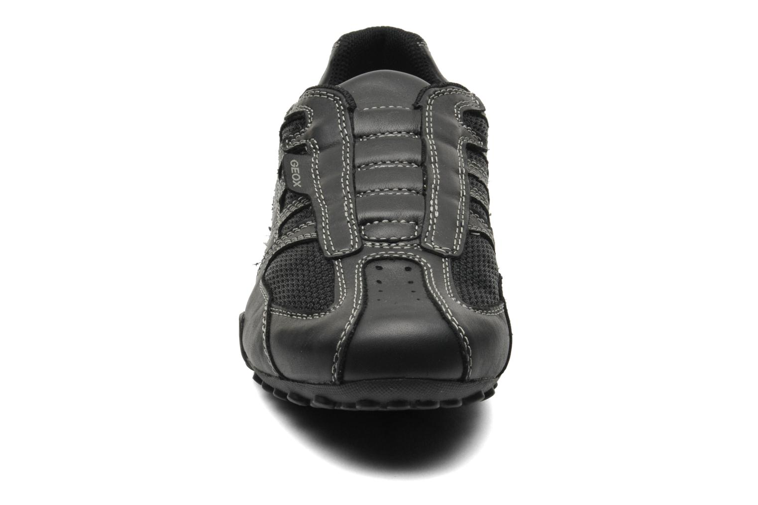Trainers Geox U SNAKE L U4207L Black model view