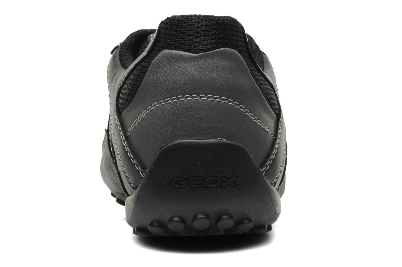 Trainers Geox U SNAKE L U4207L Black view from the right