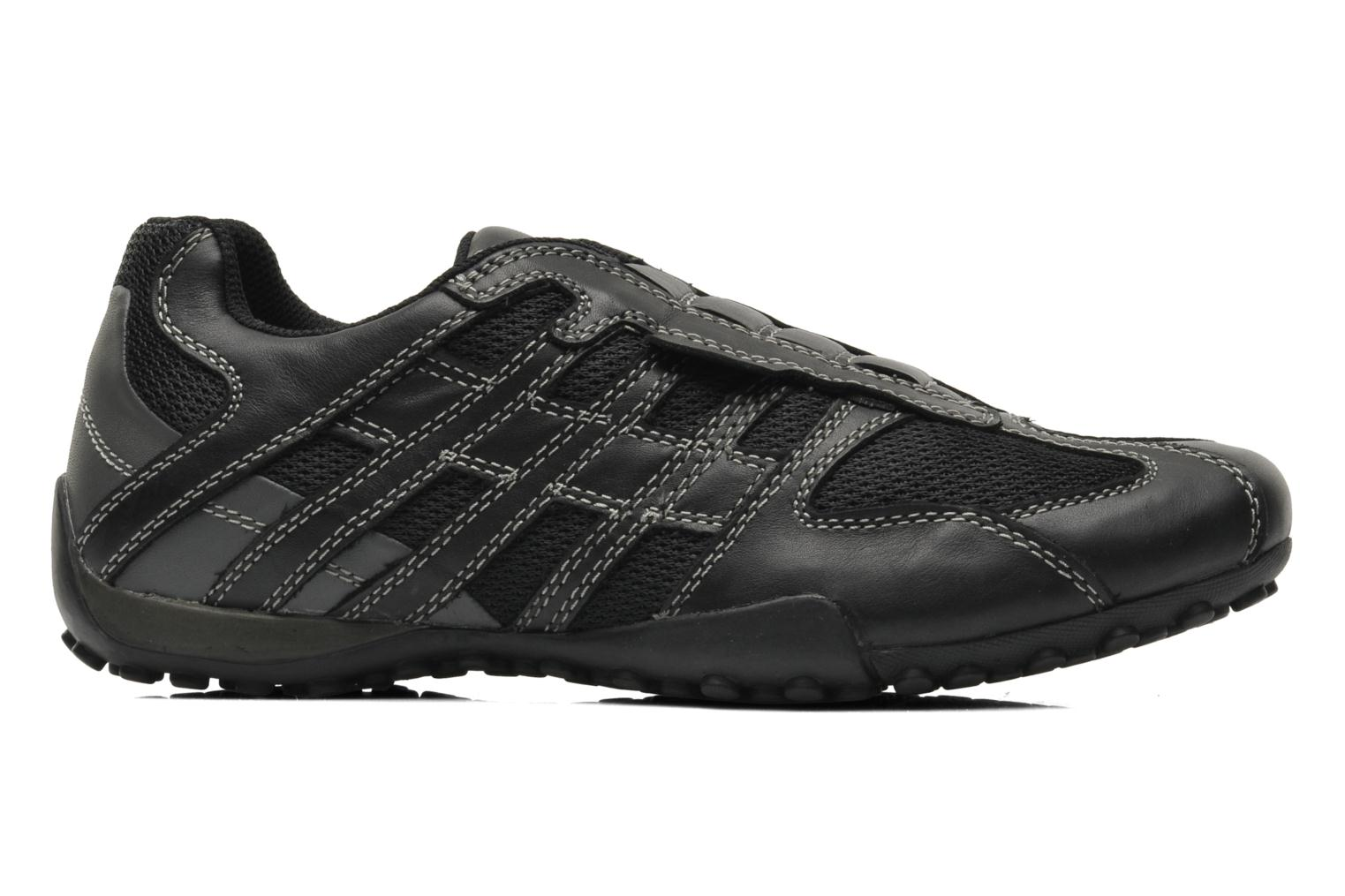 Trainers Geox U SNAKE L U4207L Black back view