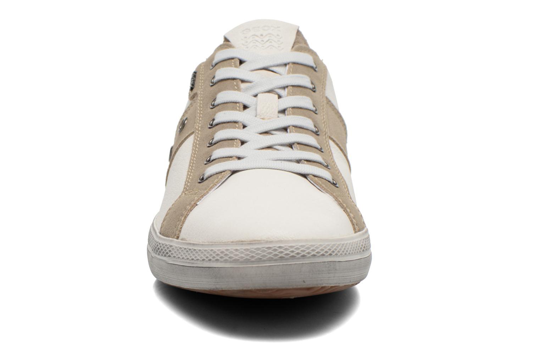 Baskets Geox U SMART D U52X2D Blanc vue portées chaussures