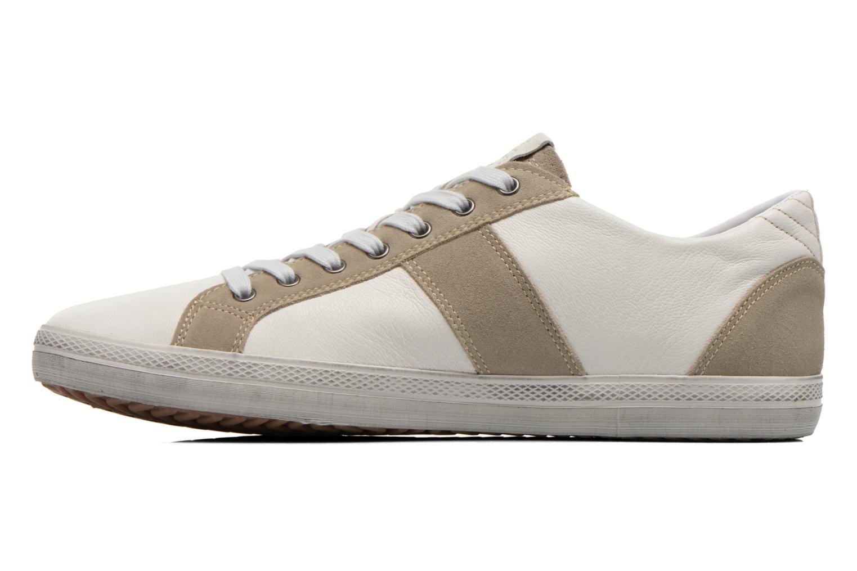 Sneaker Geox U SMART D U52X2D weiß ansicht von vorne