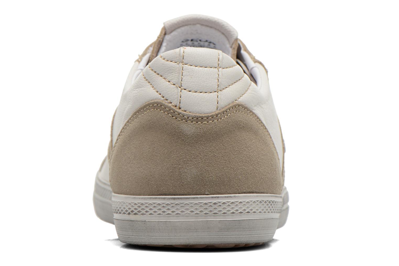 Baskets Geox U SMART D U52X2D Blanc vue droite
