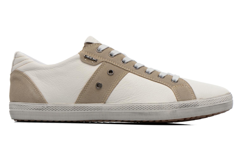 Sneakers Geox U SMART D U52X2D Wit achterkant