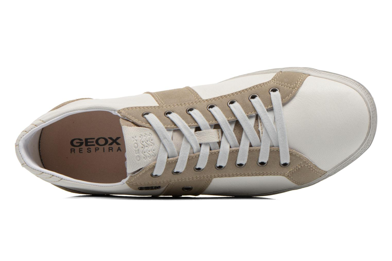 Baskets Geox U SMART D U52X2D Blanc vue gauche
