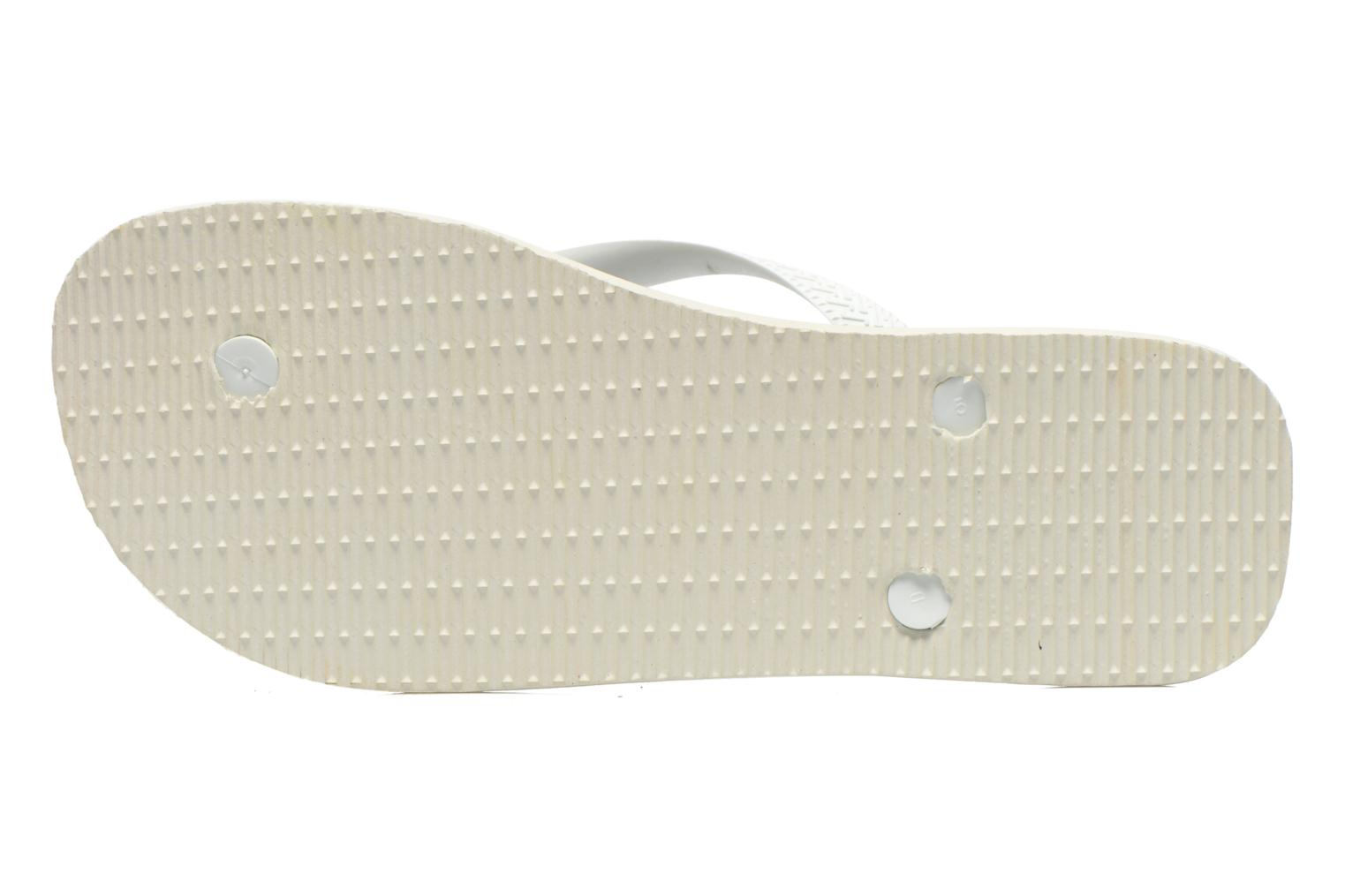 Flip flops Havaianas Hype Grey view from above