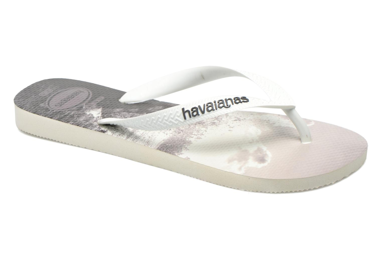 Flip flops Havaianas Hype Grey detailed view/ Pair view