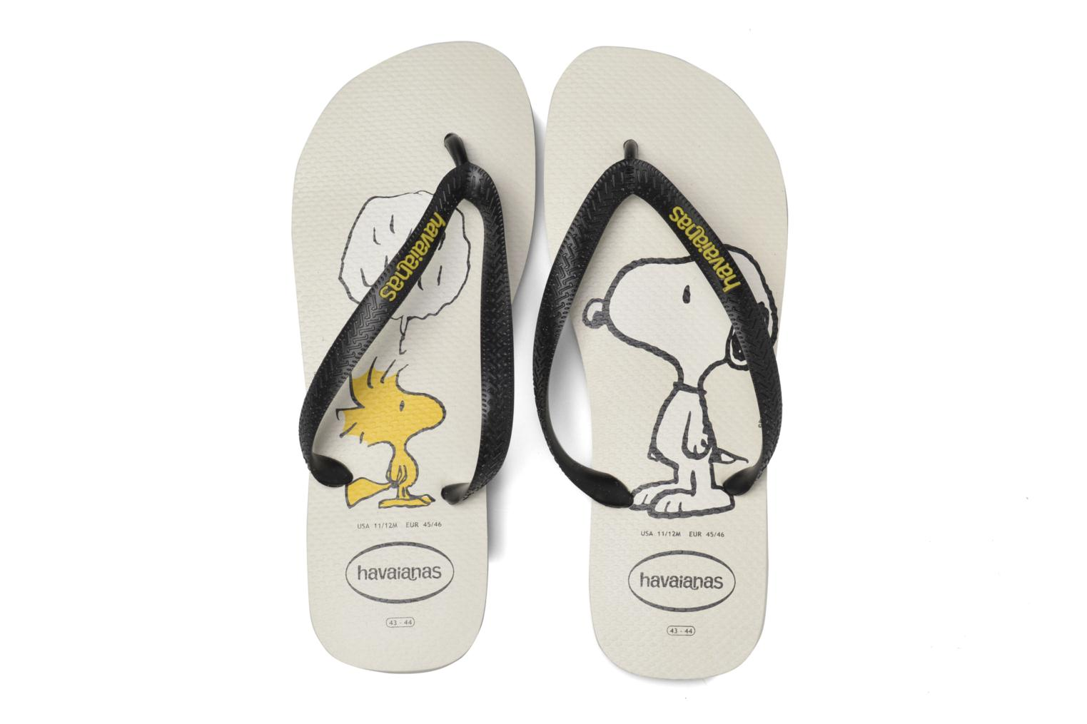 Tongs Havaianas Havaianas Snoopy H Blanc vue portées chaussures