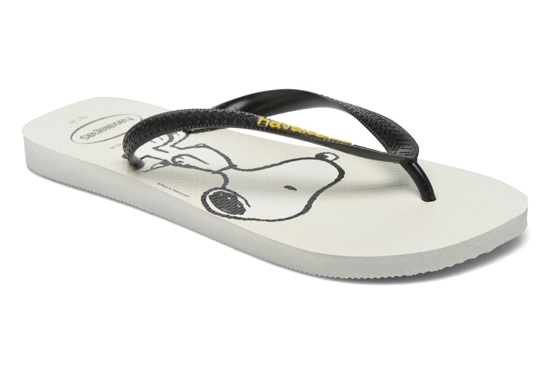 Havaianas Snoopy H Blanc