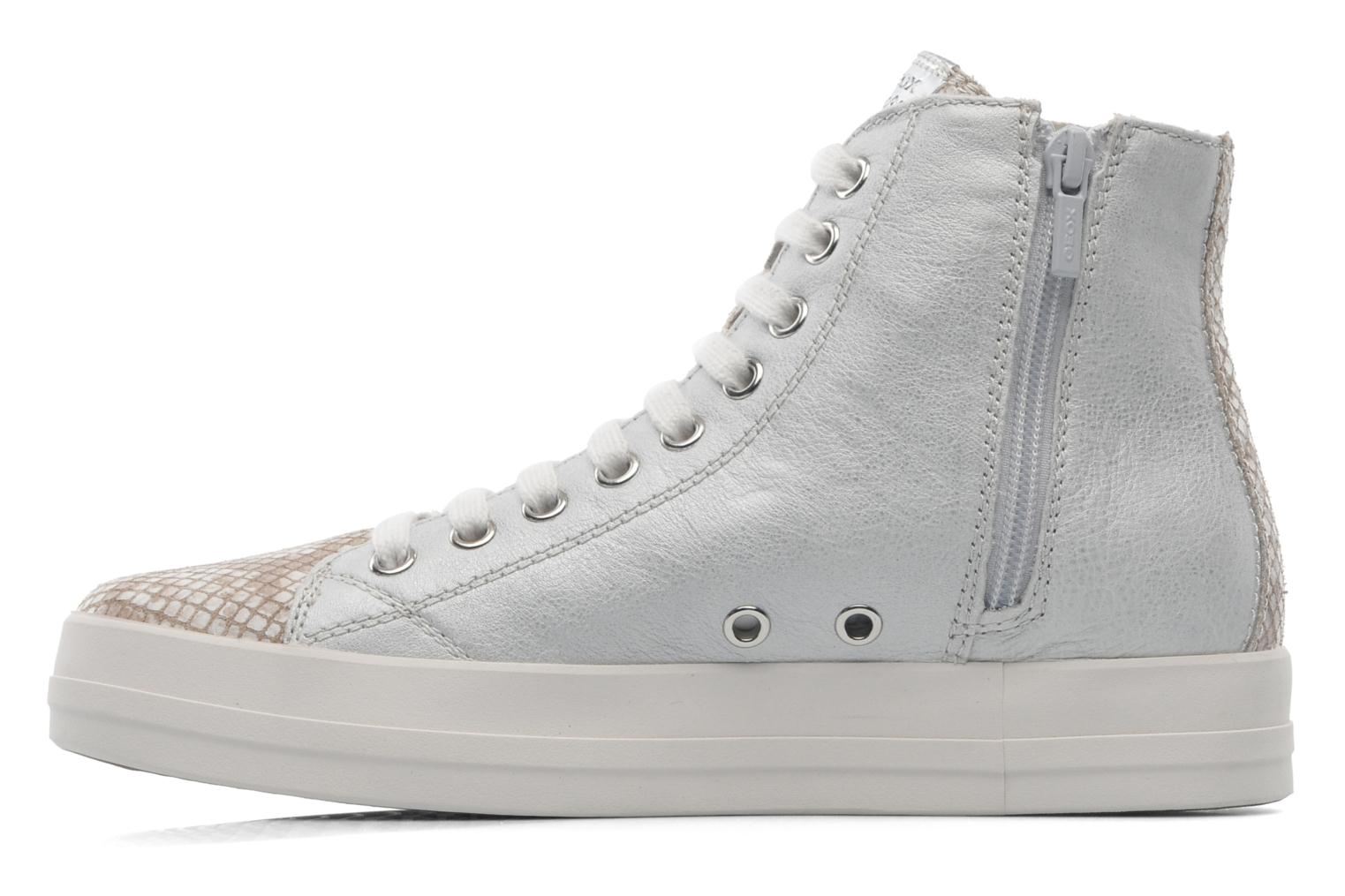 Trainers Geox D HIDENCE A D4234A Beige front view