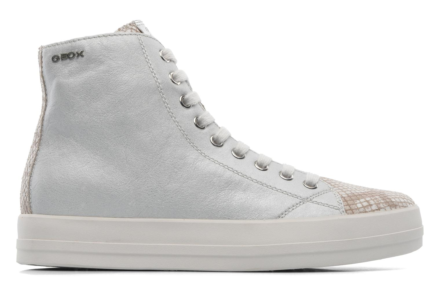 Trainers Geox D HIDENCE A D4234A Beige back view