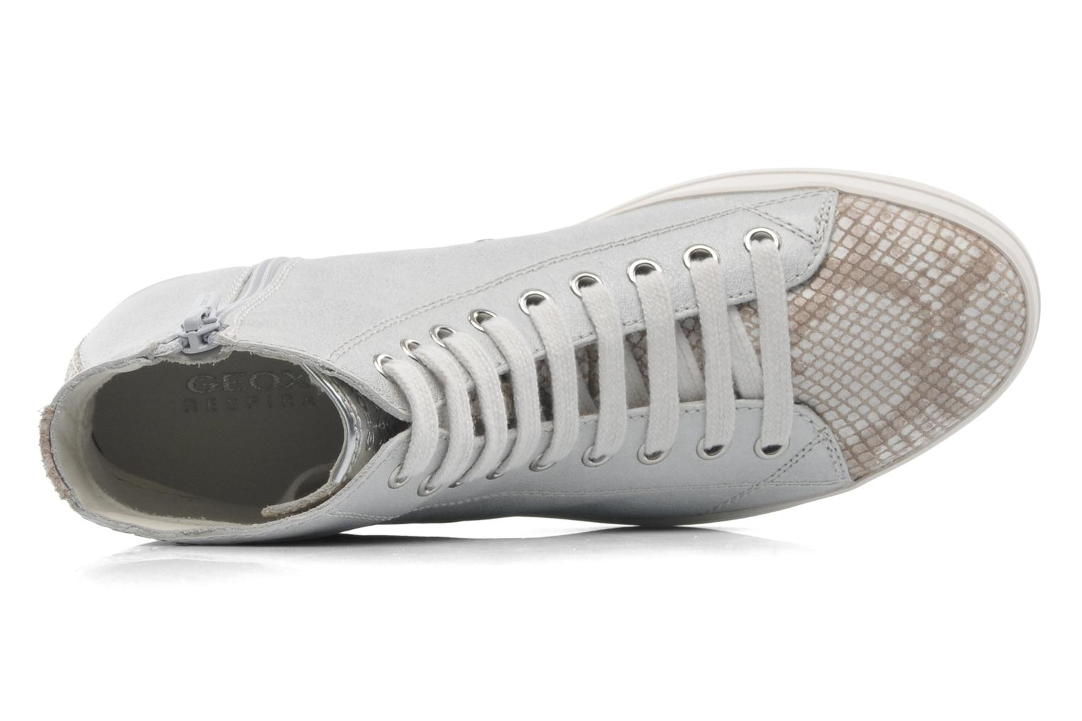 Trainers Geox D HIDENCE A D4234A Beige view from the left