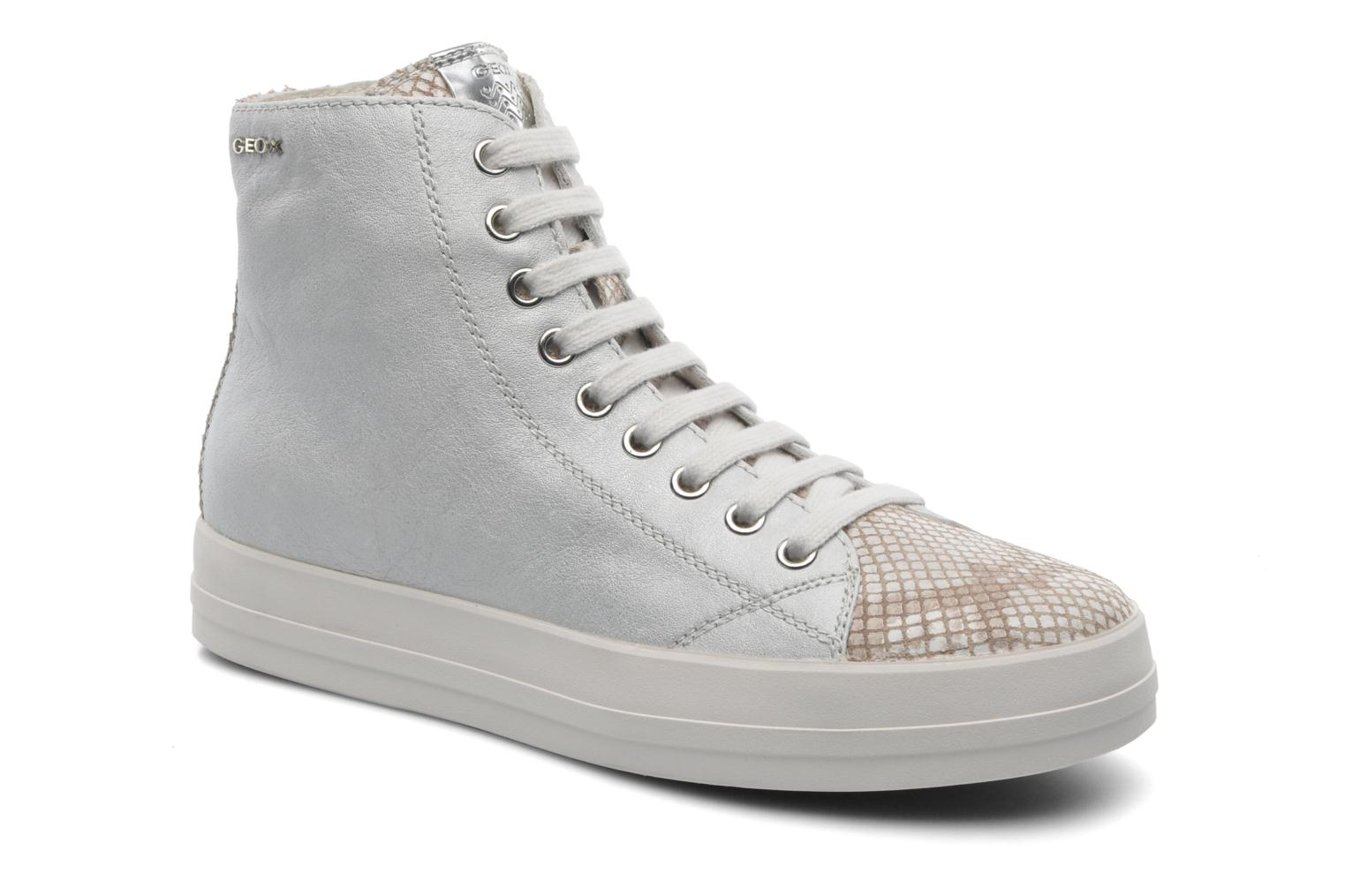 Trainers Geox D HIDENCE A D4234A Beige detailed view/ Pair view