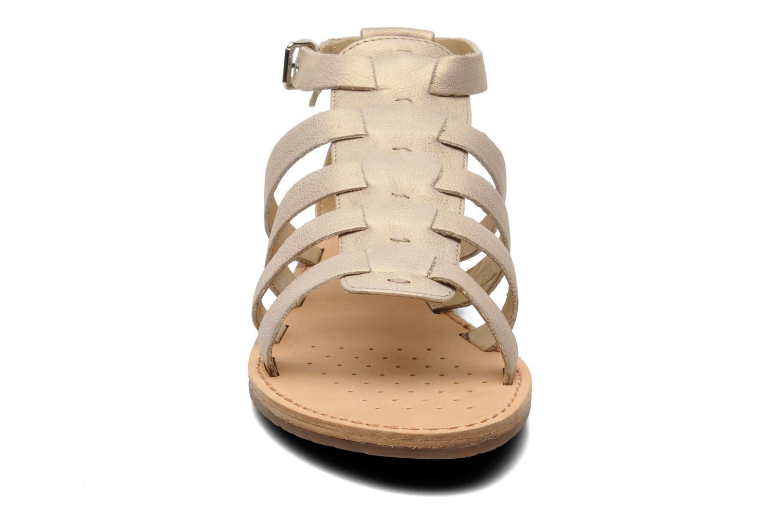 Sandalen Geox D JOLANDA D D5275D beige schuhe getragen